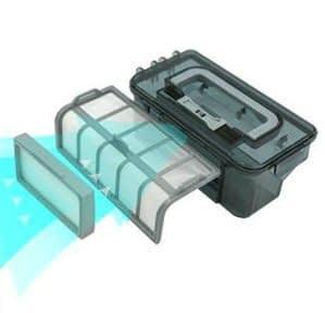 Recensione-Proscenic-790T-filtro-HEPA Recensione Proscenic 790T Robot Aspirapolvere
