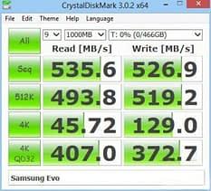 """cdm-risultati Recensione Samsung SSD 840 EVO, 250GB, 2.5"""" SATA III"""