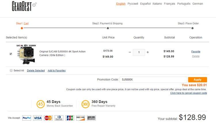 Gearbest1 Acquistare su GearBest senza costi di dogana