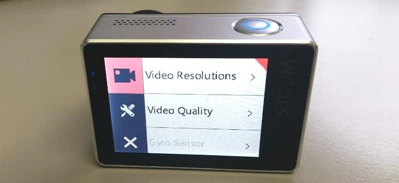 SJ7_Star_menu3 SJcam SJ7 star - recensione e prove video 4K