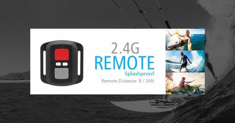 H8pro-telecomando Recensione Eken H8 Pro e Plus