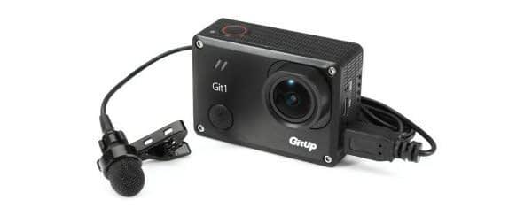 Git2_microphone_b Microfono esterno Mini usb per GitUp Git1 / Git2 / GoPro Hero 3+ / 4