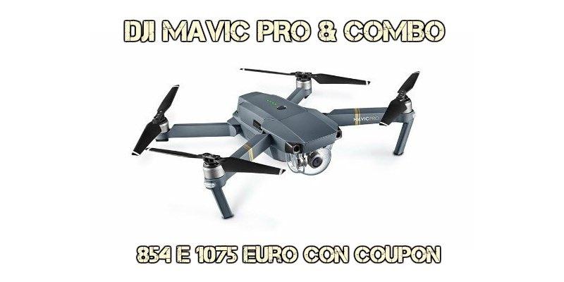 DJI-Mavic-Pro-recensione Mavic Pro al miglior prezzo del web: 894€ senza dogana