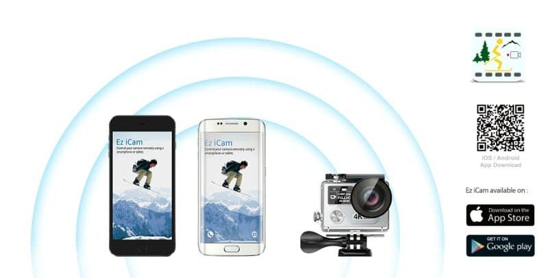 H8-Plus-wifi-app Recensione Eken H8 Pro e Plus