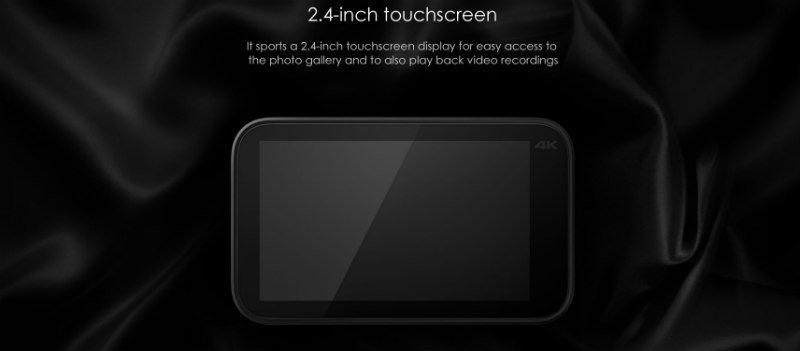 Xiaomi_Mijia_recensione_schermo_touchscreen Recensione Xiaomi Mijia action cam 4k touchscreen