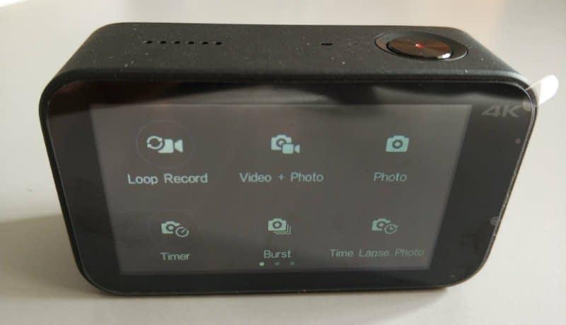 Xiaomi_Mijia_recensione_opzioni Recensione Xiaomi Mijia action cam 4k touchscreen