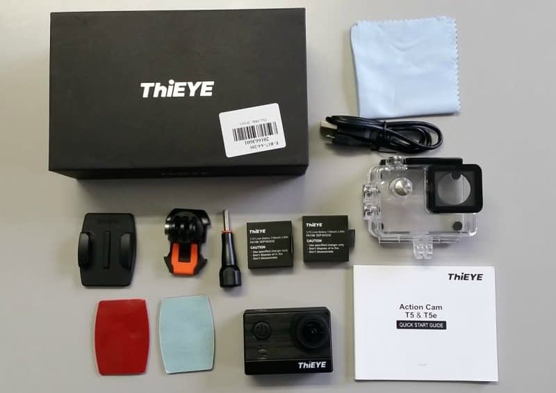 Thieye_T5e_Package Recensione ThiEYE T5e - action cam 4k