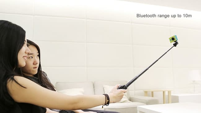 Xiaomi_Yi_remote7 Selfie Stick + Telecomando Bluetooth Xiaomi Yi originale