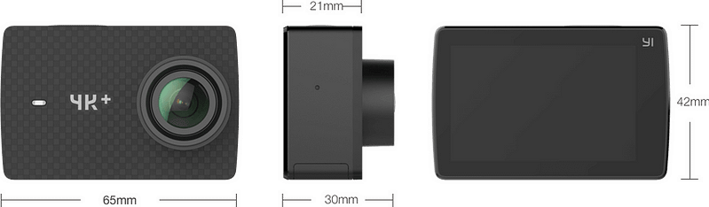 Yi-4k-plus-dimensioni Recensione Yi 4K PLUS: action cam 4K+@60fps