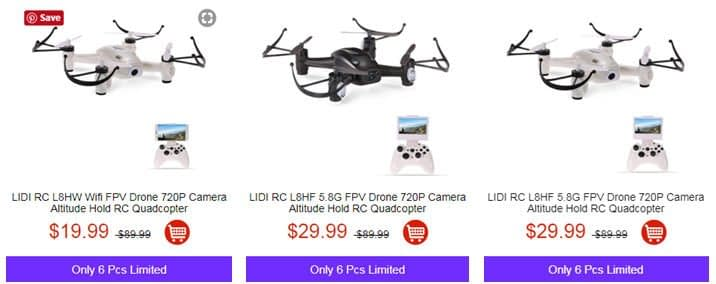 9 Sconti per il Black Friday da TomTop: droni e smartphone in offerta