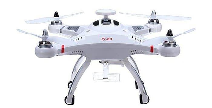 Cheerson-cx-20-quadcopter Recensione Cheerson CX-20 drone economico ma funzionale