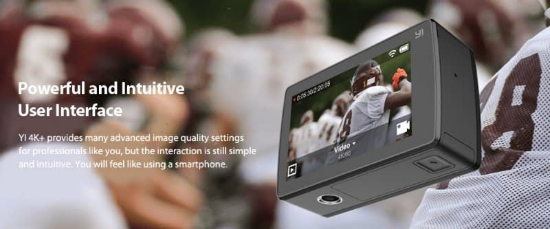 yi-4k-plus-touchscreen Recensione Yi 4K PLUS: action cam 4K+@60fps