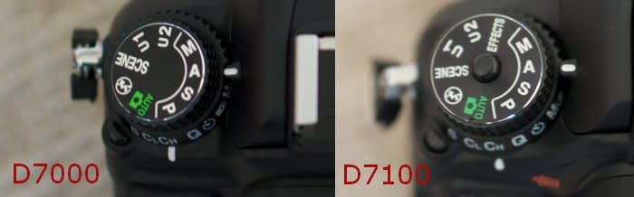 selettore-D7100 Nikon D7000 vs D7100 quale scegliere?