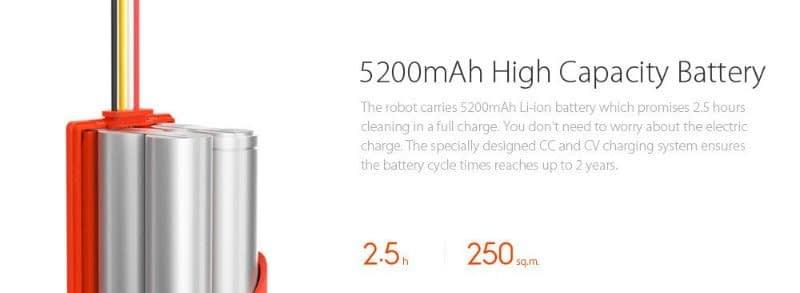 Mi-aspirapolvere-robot-batteria Recensione Xiaomi Mi Robot aspirapolvere intelligente con App