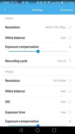 App_Xiaomi_Mijia_11 Recensione Xiaomi Mijia 3.5K - Actioncam 360° con due lenti