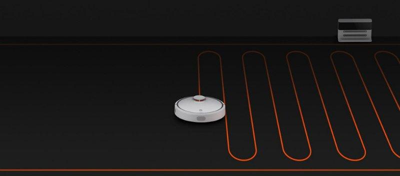 Mi-aspirapolvere-robot-percorso Recensione Xiaomi Mi Robot aspirapolvere intelligente con App