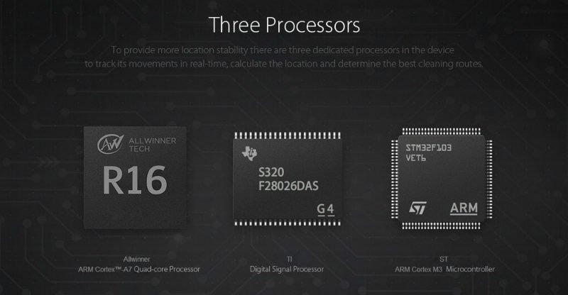 Mi-aspirapolvere-robot-processori Recensione Xiaomi Mi Robot aspirapolvere intelligente con App