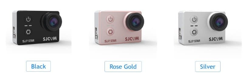 SJ7_colors SJcam SJ7 star - recensione e prove video 4K
