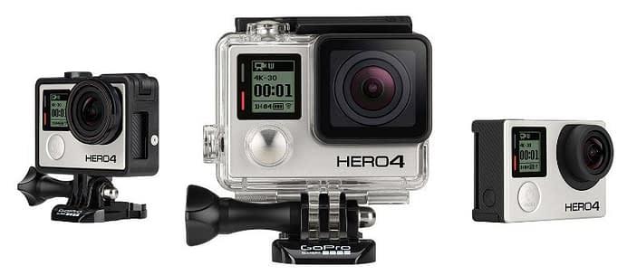 Gopro_her4_black_banner GoPro Hero4 Black Recensione e specifiche