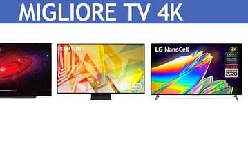 Migliore TV 4k: classifica 2021