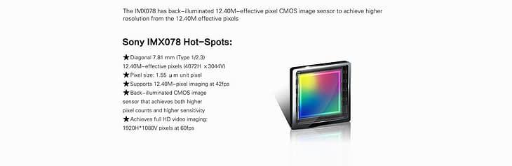 Sony-IMX078-sensor-1024x334 SJ5000X Elite - Recensione Sjcam 4k con stabilizzatore Gyro