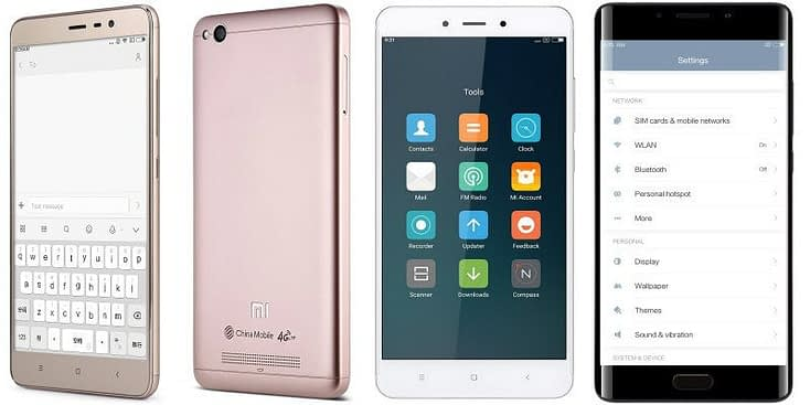 Cellulari-Xiaomi Xiaomi Redmi Note 3 Pro - Redmi 4A - Redmi Note 4 - Mi Note 2