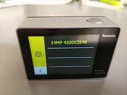 recensione-Eken-H6s-menu4 Recensione Eken H6s action cam 4k economica con stabilizzatore e telecomando