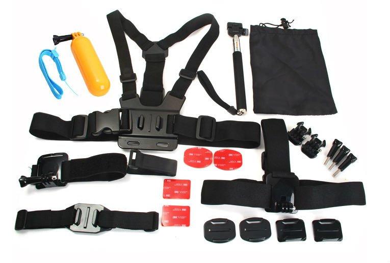 Kit_gopro Kit per gopro da 23 pezzi da Gearbest a 14$