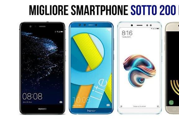 I migliori smartphone del 2021 sotto i 200 euro