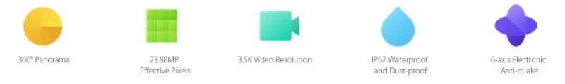 Recensione_Xiaomi_Mijia_360_caratteristiche Recensione Xiaomi Mijia 3.5K - Actioncam 360° con due lenti