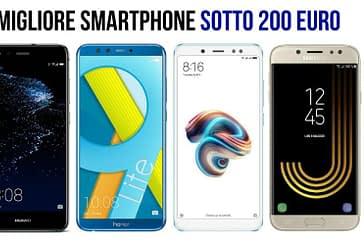 I migliori smartphone del 2020 sotto i 200 euro