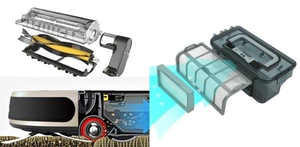 Recensione-Proscenic-790T-filtri Recensione Proscenic 790T Robot Aspirapolvere