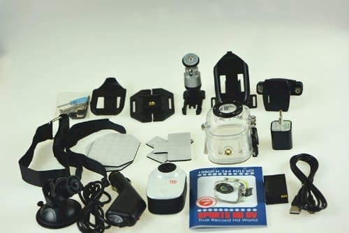 accessori Action cam SJ1000 subacquea a 70€, economica e consigliata