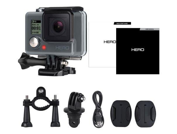 Recensione-Gopro-hero-accessori Recensione GoPro Hero a 50€ su Tomtop