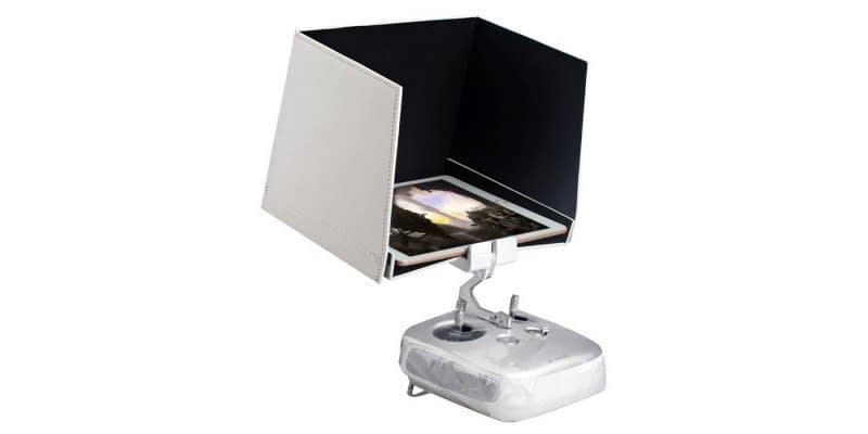 """Cellphone-Sun-Hood-Shade-for-DJI-Phantom-3 Parasole da 5.5"""" per telecomando Phantom 3 e Inspire 1"""