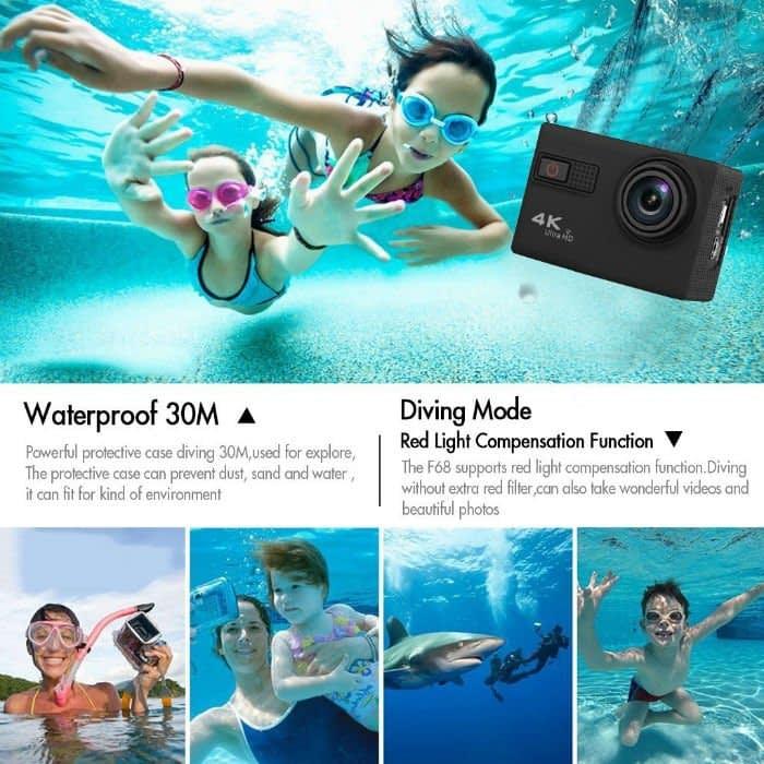 Excelvan-F68-waterproof Recensione Excelvan F68