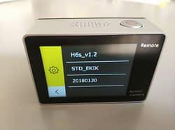 recensione-Eken-H6s-menu9 Recensione Eken H6s action cam 4k economica con stabilizzatore e telecomando