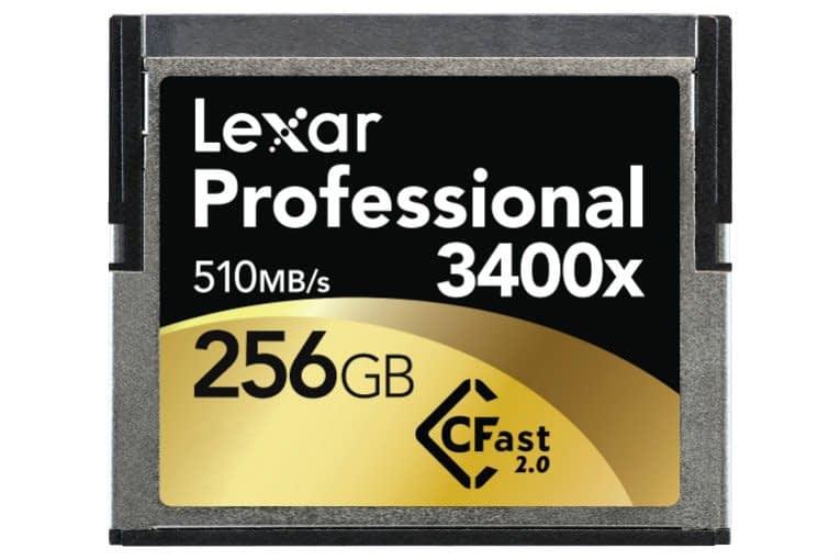 Lexar_Pro_CFast_3400x_256GB_0 Lexar Professional CFast 2.0 ora a 3400x !
