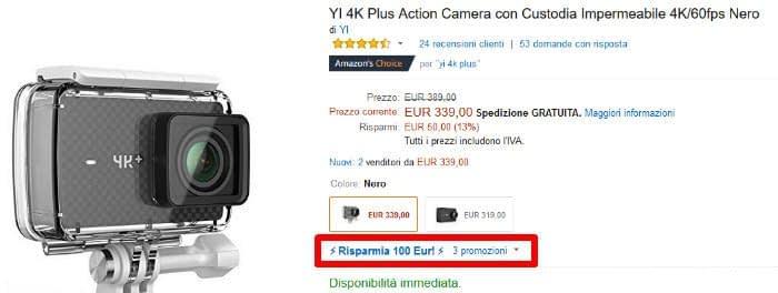 yi_4k_blackfriday Migliori offerte Black Friday Amazon 2017