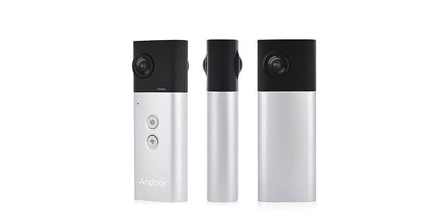 Andoer-a360i-recensione Recensione Andoer A360i - videocamera a 360° con 2 lenti