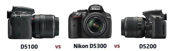 Nikon_D5300_vs_D5200_vs_D5100 Nikon D5300 vs D5200 vs D5100: confronto