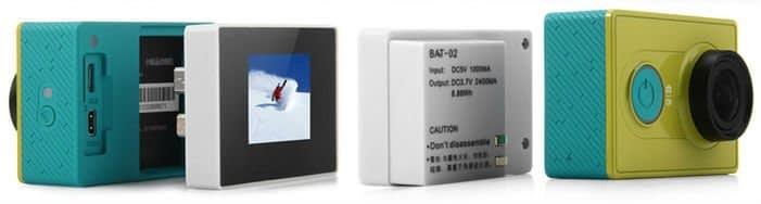 lcd_display_xiaomi Display LCD + Batteria maggiorata per Xiaomi Yi
