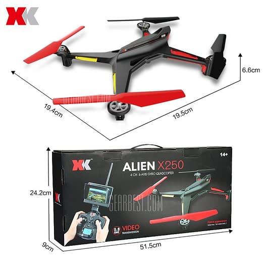 XK-X250_2 XK X250 - A 5.8G FPV Quadcopter