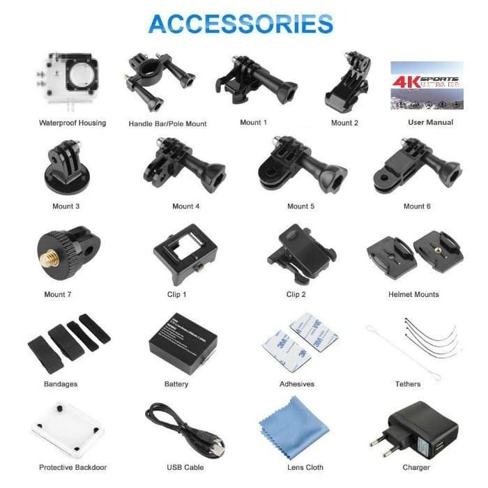 Excelvan-F68-accessori Recensione Excelvan F68
