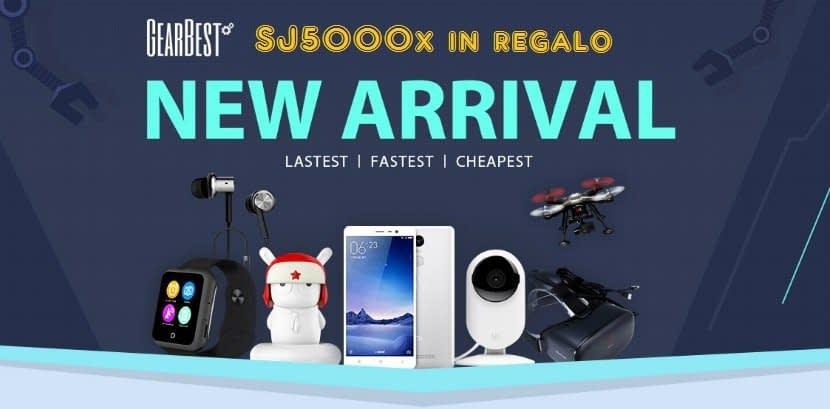 banner Giveaway: una SJ5000X in regalo grazie a Gearbest!