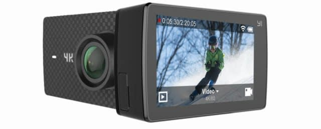 yi-4k-plus-schermo Recensione Yi 4K PLUS: action cam 4K+@60fps