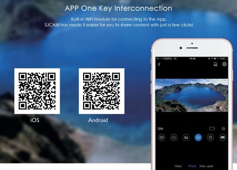 SJ360_app Recensione SJCAM SJ360