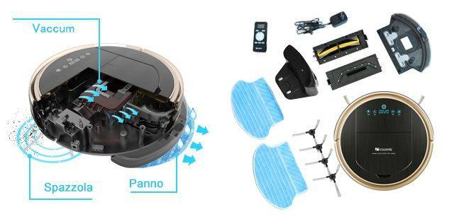 Recensione-Proscenic-790T-panno Recensione Proscenic 790T Robot Aspirapolvere