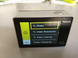 recensione-Eken-H6s-menu5 Recensione Eken H6s action cam 4k economica con stabilizzatore e telecomando