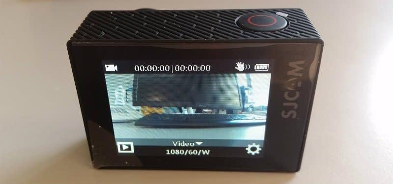 SJ6 Legend schermo